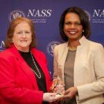 Chapman Presents National Award to Condoleezza Rice